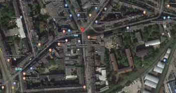 Google-Map: Flurstraße in Flingern-Nord