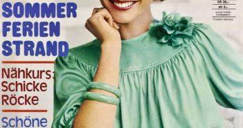 Neue Mode, die Zeitschrift für die alleinstehende Dame (hier von 1975)