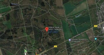 Google-Map: Hildener Heide