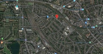 Google-Map: Gurkenland - mit dem Wormser Weg in der Mitte