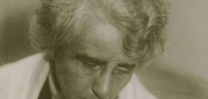 Louise Dumont im Alter