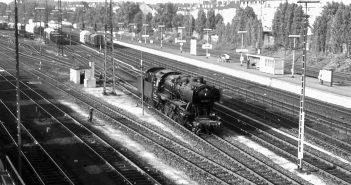 1973 arbeiteten noch Dampfloks auf dem Derendorfer Rangierbahnhof (Foto: Rupprecht von Gersdorff)