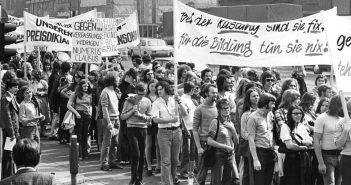 März 1968: Schülerdemo in Düsseldorf (Foto: WDR)