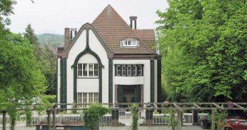 Das Behrenshaus in der Künstlerkolonie Mathildenhöhe, Darmstadt (Foto: Wikimedia)