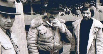 Joseph Beuys, Anatol, E.Grenzer auf einem Foto von 1976