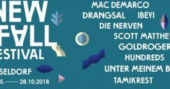 New Fall Festival 2018: Die Künstler