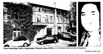 Spiegel-Bericht zum Mord an Jakob Keusen von 1990