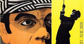"""Filmplakat """"Der Mann ohne Nerven"""" auf Russisch"""