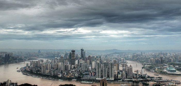 Die Skyline von Chongqing(Foto: Wikimedia)