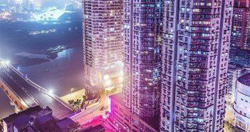 Das moderne Zentrum Chongqings (Foto: duesseldorf.de)