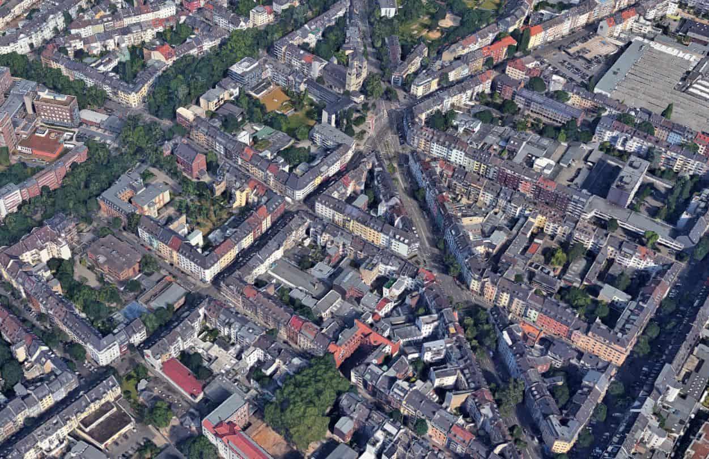 Google Map 3D: Das ganze Viertel