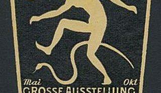 Ein Reklameplakat für die GeSoLei