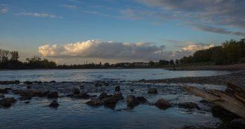 BdW05: Wolken über dem Reisholzer Hafen