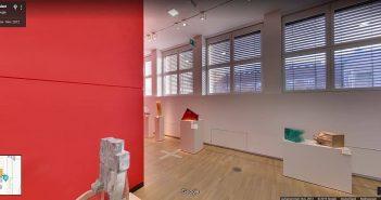Der Kunstpalast ist eines der wenigen Gebäude der Stadt, bei dem man sich per Google Streetview virtuell durch die Räume bewegen kann