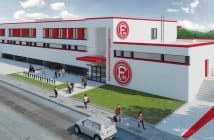 Ein Nachwuchsleistungszentrum in Rot und Weiß als Zukunftsversicherung