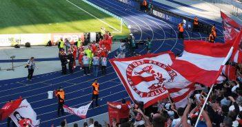 Hertha vs F95: Die Mannschaft und die Fans