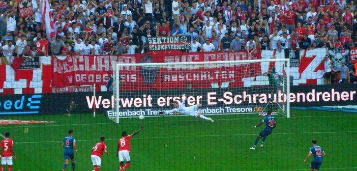 Mainz vs F95: Der verschossene Elfer