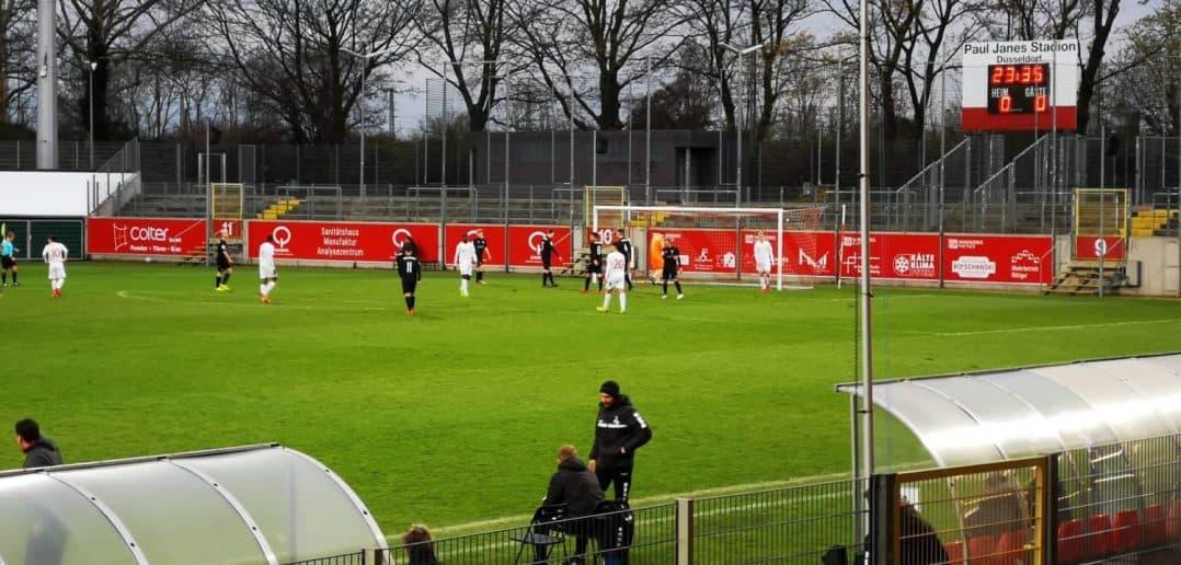 Unsere U19 gewinnt das Viertelfinale im Niederrheinpokal mit 1:0 gegen den MSV
