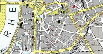 So sah die Stadtmitte 1934 aus