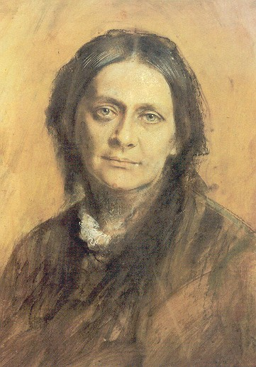 Clara Schumann mit fast 60 Jahren (Abb.: Wikimedia)