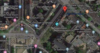 Google-Map: Das Vossen an der Hütten-/Helmholtzstraße