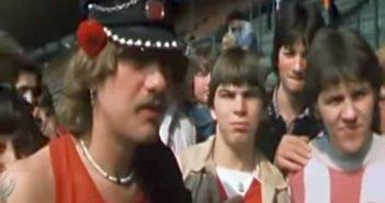 1985: Fortuna-Fan diskutieren über das Verbot von Alkohol im Stadion