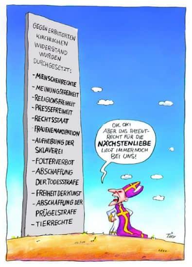 Die Karikatur zur Aufklärung...