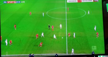 Augsburg vs F95: Da war schon alles zu spät...