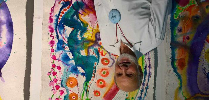 Der Künstler Amos Plaut