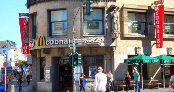 McDonalds an der Grf-Adolf-Straße: Da war die Welt noch in Ordnung