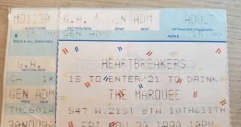 Johnny Thunders im Marquee - das Ticket