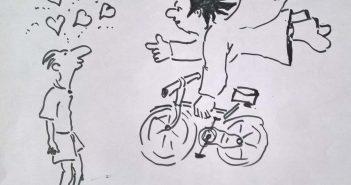 Wenn Fahrradschrauber Engel sind...