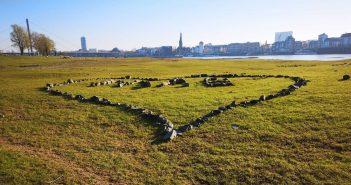 Bild aus dem April: Ein Herz fürs Dorf