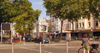 Komplizierte Verkehrsführung am Belsenplatz