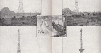 Der Berliner Funkturm in Bau - eine Konstruktion der Hein, Lehmann von 1928