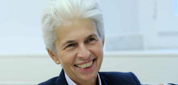 Marie-Agnes Strack-Zimmermann, die Berufstätige (Foto: Michael Gstettenbauer)