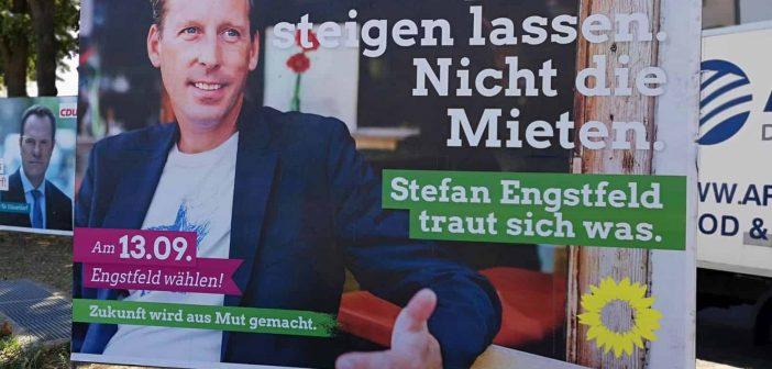 Stefan Engstfeld - ein grünschwarzer Hipster (eigenes Foto)