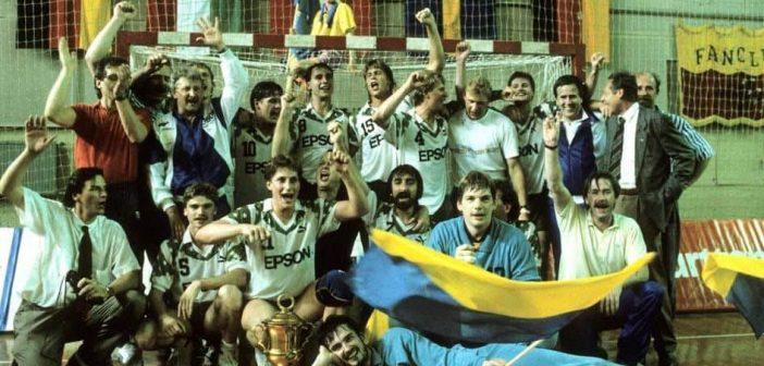 Die TuRU-Mannschaft, die 1989 den IHF-Cup holte