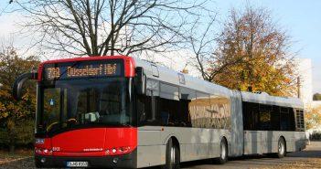 Ein schöner neuer Rheinbahnbus (Foto: Rheinbahn)