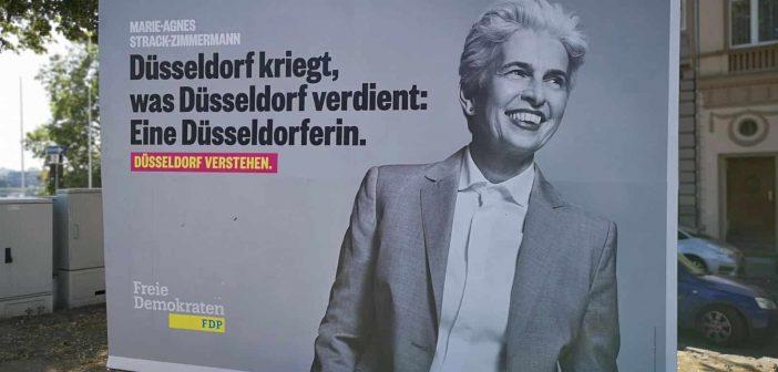 Marie-Agnes Strack-Zimmermann - wenn Düsseldorf die einzige Eigenschaft ist (eigenes Foto)