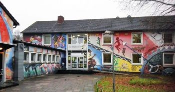 Das Haus der Jugend heute, kurz vor dem Abriss