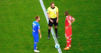 F95 vs HDH: Herr Bodzek und Herr Schnatterer (Foto: TD)